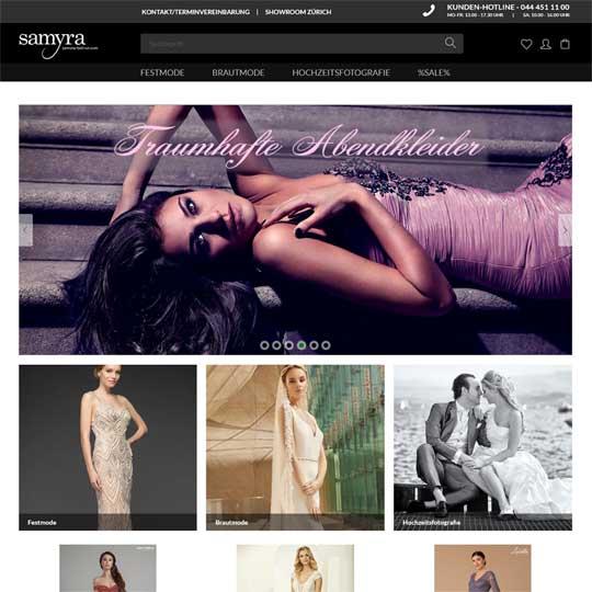 Samyra-Fashion.com - Brautmoden