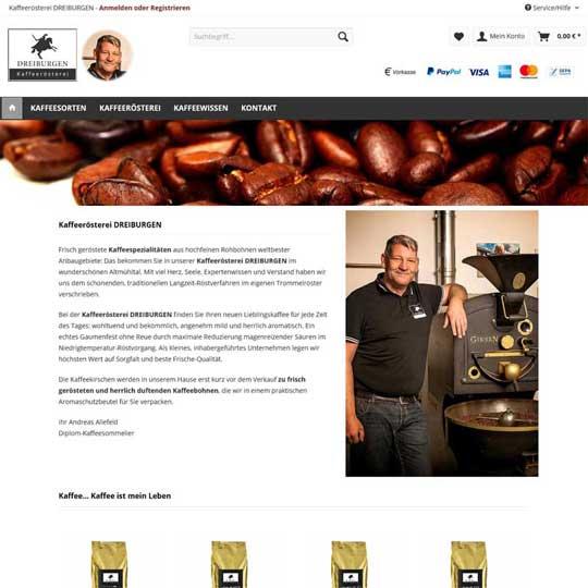 Kaffeeroesterei-dreiburgen.de